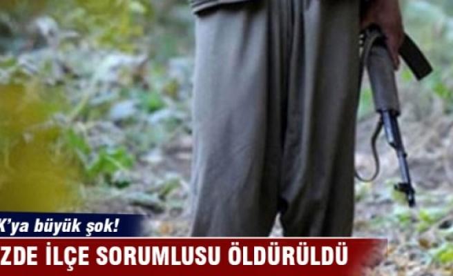 PKK'nın sözde ilçe sorumlusu öldürüldü