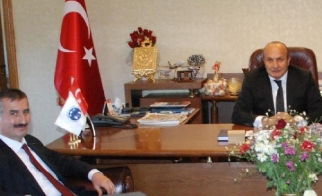 Recep Biçer, Başkan Arslan'a Ziyaret Etti