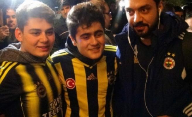Rize'de Fenerbahçe kafilesine tepki!
