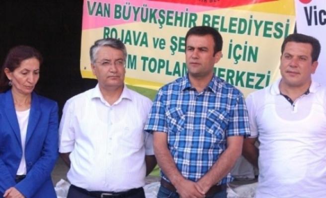 Rojava Ve Şengal İçin Yardım Kampanyası