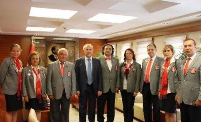 Rotaryenler İpekyolu'nda Buluştu