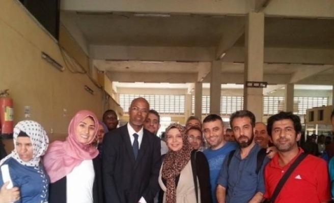Sağlık Çalişanlari Somali'de