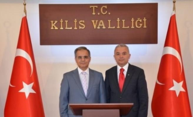Şahinbey Kaymakamı Turan'dan, Vali Tapsız'a Ziyaret