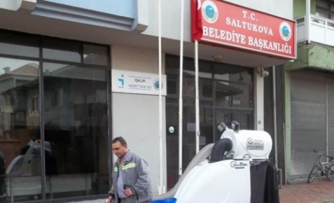 Saltukova'ya Vakumlu Temizlik Aracı