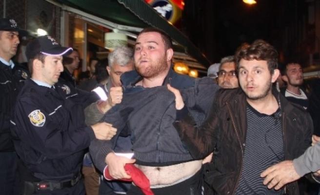Samsun'da Kobani Gerginliği: 5 Gözaltı