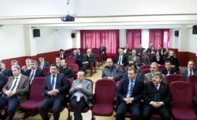 Samsun'da Okul Müdürleri Kampa Alındı