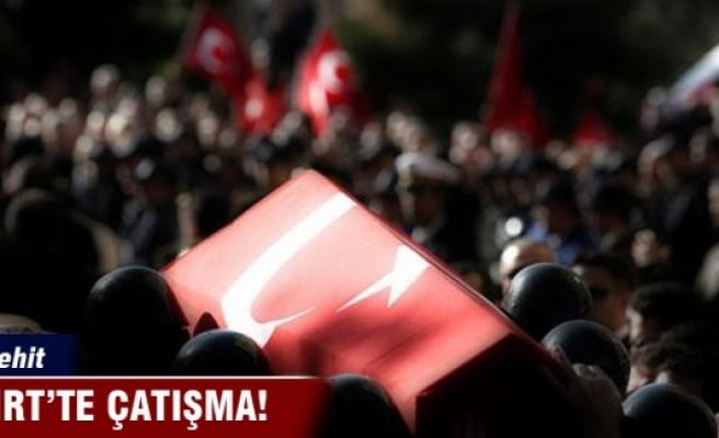 Siirt'te çatışma: 1 asker şehit