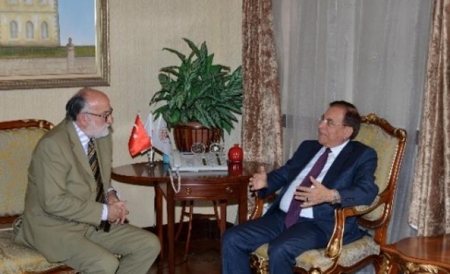 Sırbistan'ın Ankara Büyükelçisi Vucetic, Vali Vekili Eren'i Ziyaret Etti