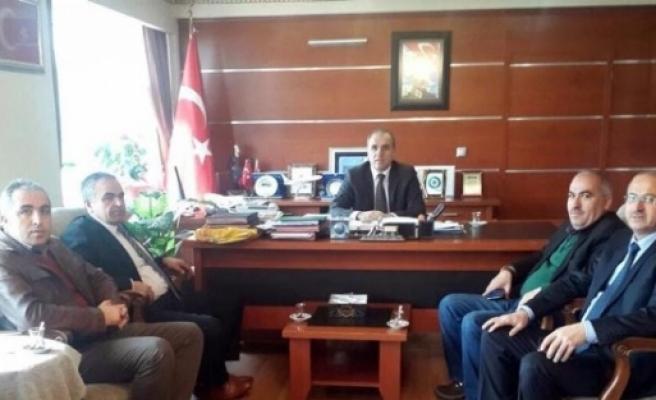 Sorgunlu Belediye Başkanları, Kaymakam Kılıç'ı Ziyaret Etti