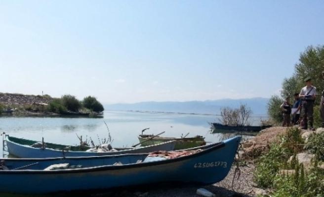 Suğla Gölündeki Balıkçılara Sıkı Denetim