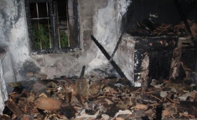 Sultanhisar'da Ev Yangını: 1 Ölü
