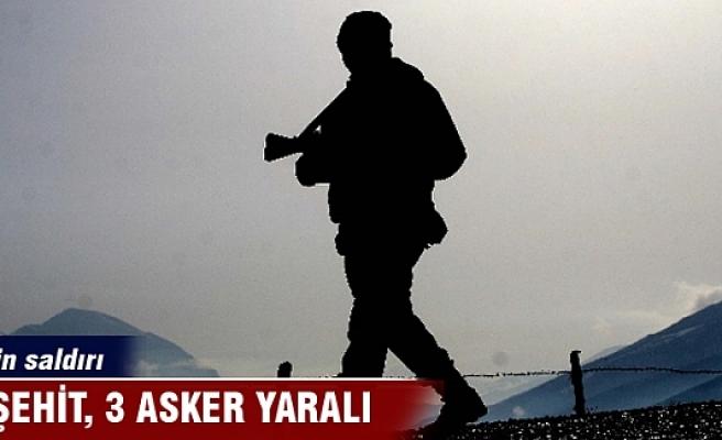 Sur'da patlama ve çatışma: 1 şehit, 3 asker yaralandı