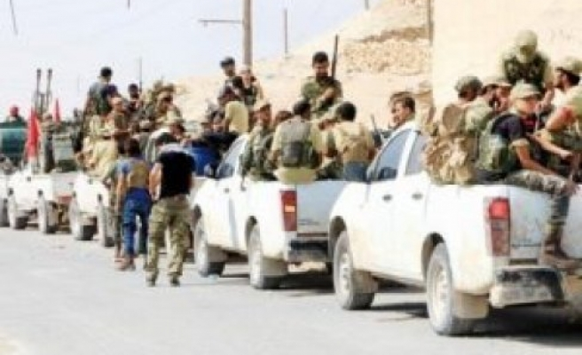 Suriye'de 'El Bab yarışı'