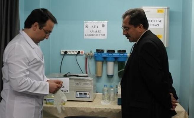 Süt Analiz Cihazı, Birliğe Teslim Edildi