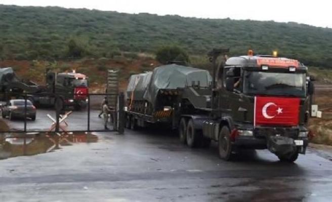 Tankların Gaziantep'e sevki devam etti