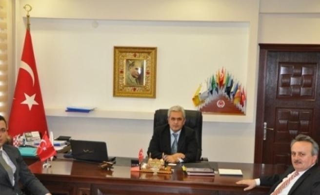 Tekirdağ İl Gıda Tarım Müdürü Sarıkoca'dan Malkara Kaymakamı Halal'a Ziyaret