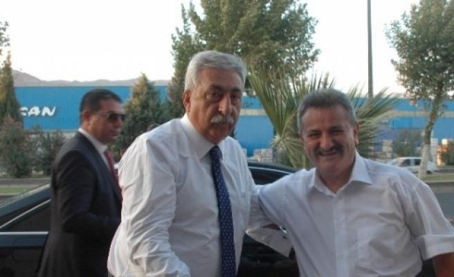 Tesk Genel Başkanı Palandöken'den Ayesob'a Ziyaret