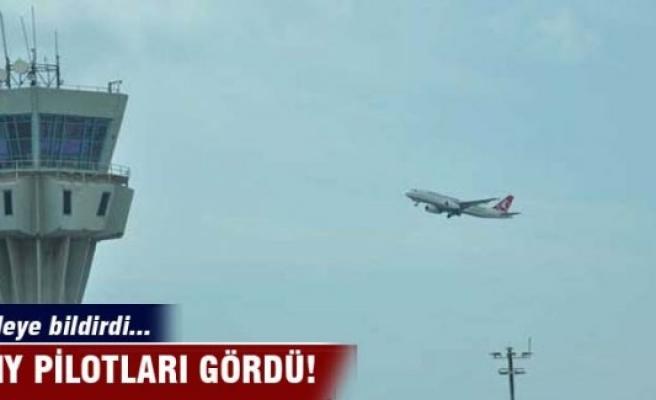 THY pilotları gördü! Kuleye bildirdi
