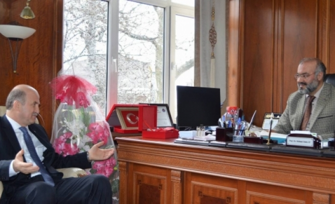 Torun'dan Bursa Müftüsü Ay'a ziyaret