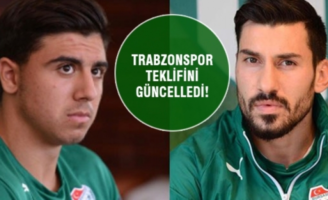 Trabzonspor Ozan ve Şener için teklifini güncelledi!