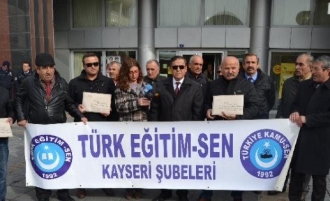 Türk Eğitim-sen'den Anayasa Mahkemesi Başkanı Kılıç'a Mektup