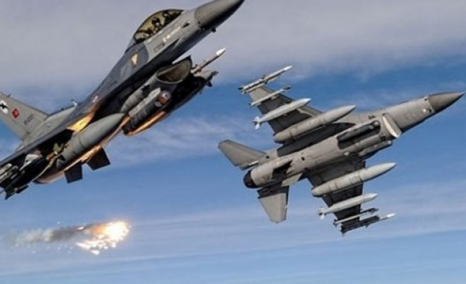 Türk F-16'ları IŞİD'i vurdu