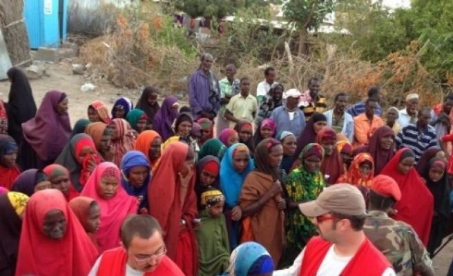 Türk Kızılayı'nın Somali'de Kurban Kesimi