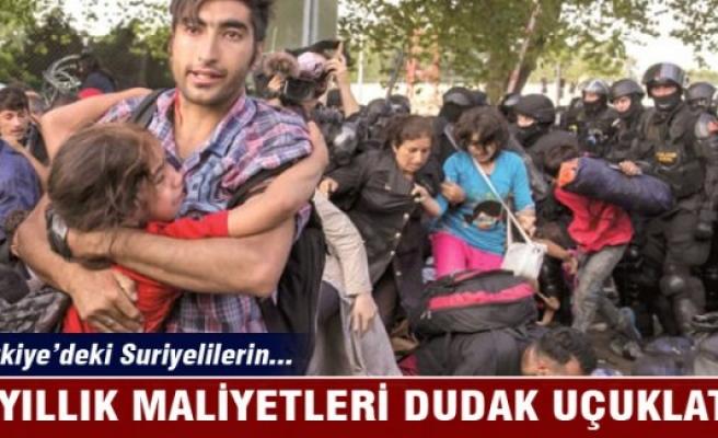 Türkiye'deki Suriyelilerin 4 yıllık maliyeti dudak uçuklattı!