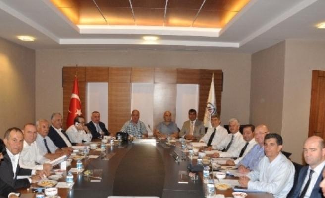 Türkiye Hububat Bakliyat Sektör Kurul Toplantısı Gaziantep'te Yapıldı