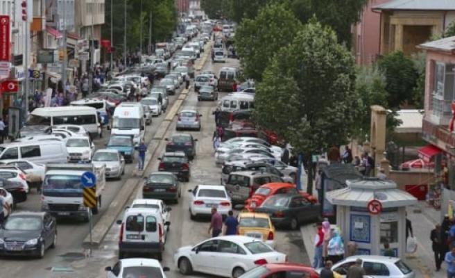 Türkiye'nin en düşük nüfuslu ilinde bayram yoğunluğu