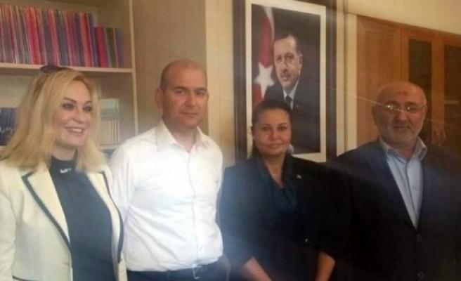 Uçar'dan, Ak Parti Genel Başkan Yardımcısı Süleyman Soylu Ziyaret