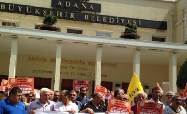 Ulaşım Zammı Protesto Edildi