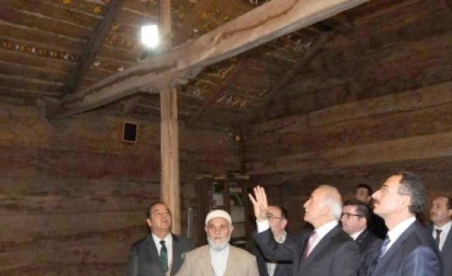 Vali Şahin, Çarşamba Göğceli Camisi'nde