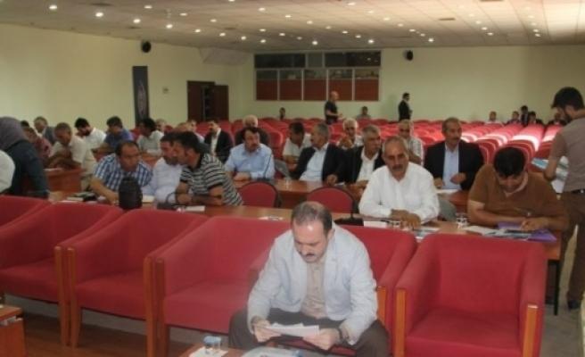 Van Büyükşehir Beleyediye Meclisi Ağustos Ayı Mutat Toplantısı