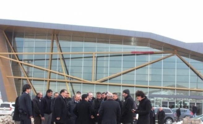 Van'da Başbakan Davutoğlu Hazırlığı