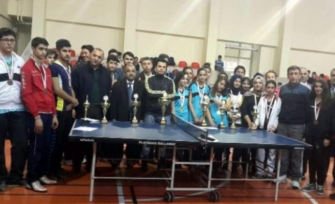 Van'da Masa Tenisi İl Birinciliği Yarışması