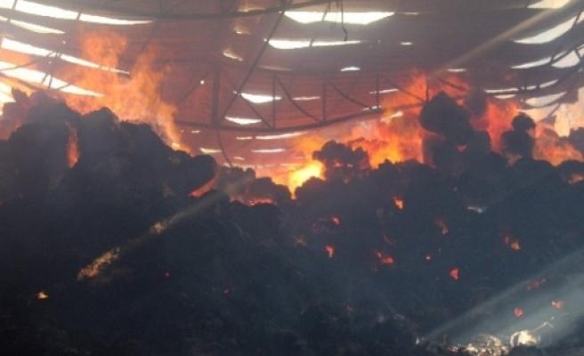 Viranşehir'de Fabrika Yangını