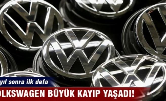 Volkswagen 15 yıl sonra ilk kez zarar açıkladı