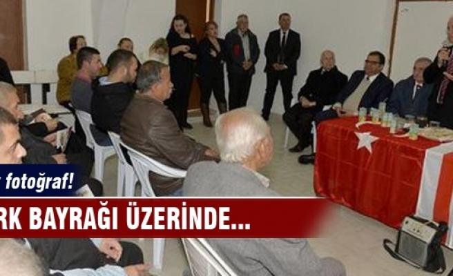 Türk Bayrağı'na saygısızlık!