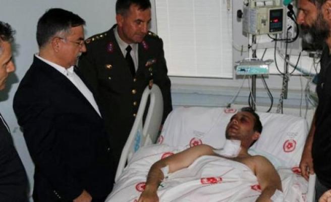 Yaralı pilot Üsteğmen Kandemir GATA'ya sevk edildi