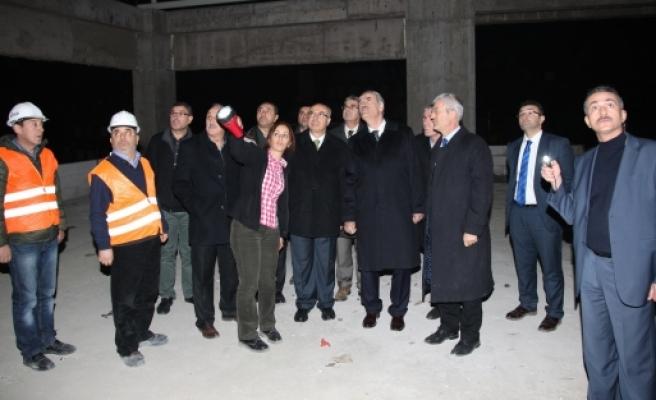 Yeni başkanlık binası baharda hizmete açılacak