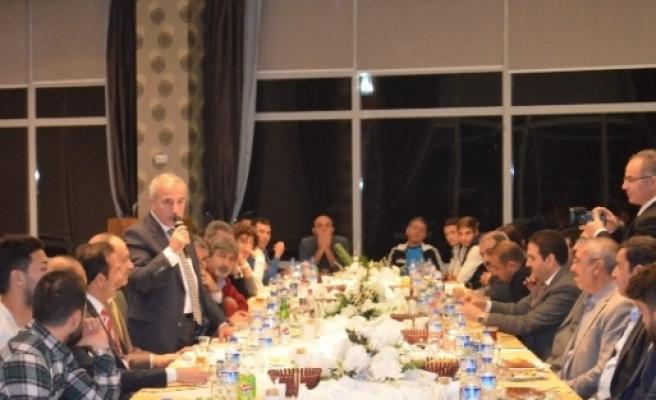 Yeni Malatyaspor'a Yemek Verildi