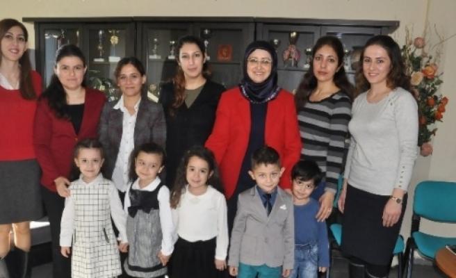 Zübeyde Hanımlı Minikler, Alıcık'ı Ziyaret Etti