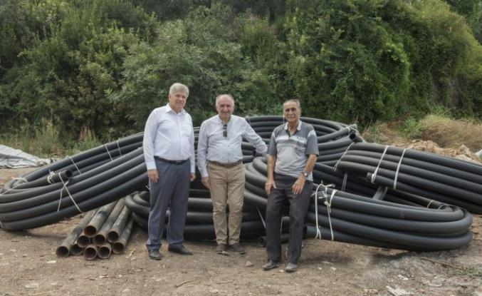 BUSKİ'den Narlıca'da içme suyu seferberliği