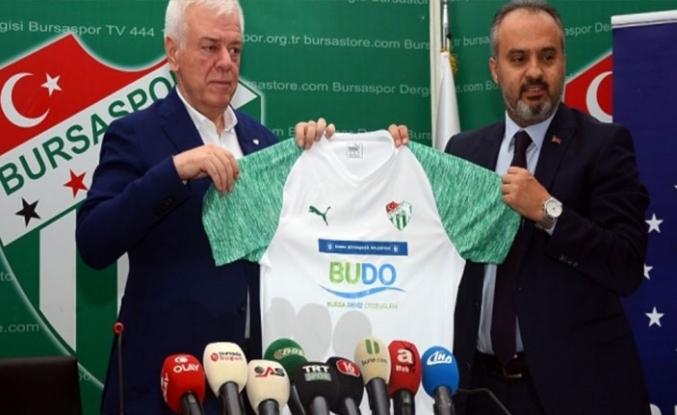 Bursaspor'un göğüs sponsoru BUDO oldu!