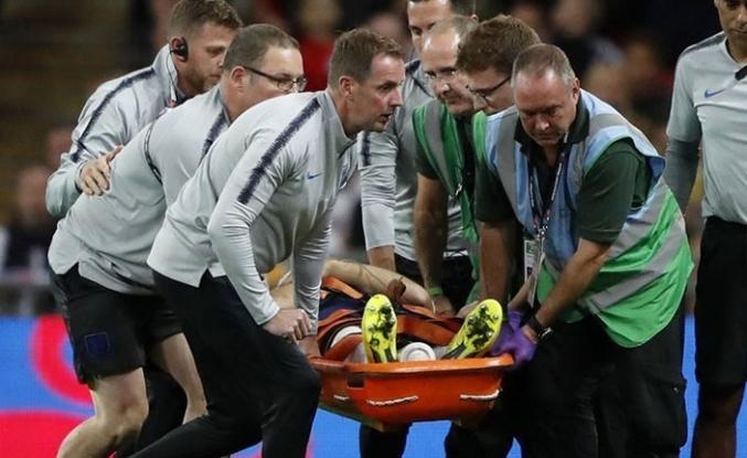 Yıldız futbolcu korkuttu! Bilincini kaybetti!