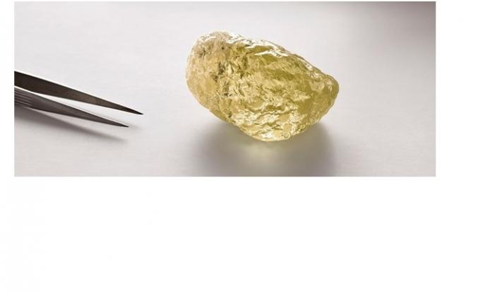 552 karatlık elmas bulundu