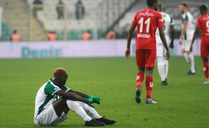Bursaspor: 0 - Antalyaspor: 2