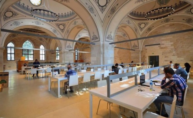 Beyazıt Devlet Kütüphanesi en güzel kütüphaneler arasında