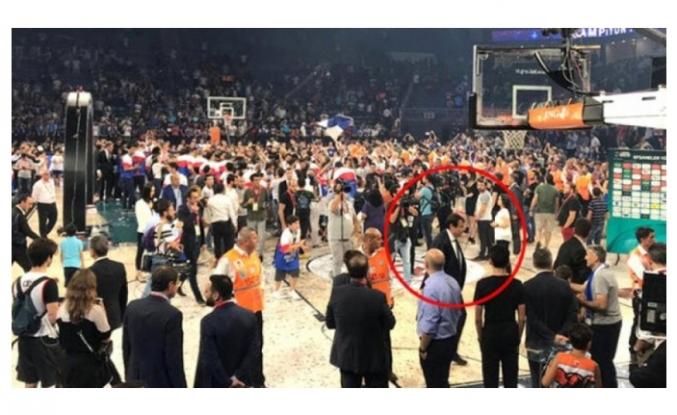 Ergin Ataman'dan maç sonu şok hareket!